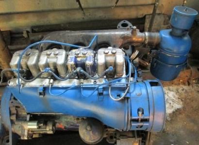 Двигатель Д-37 М малыш с автобетоносмесителя