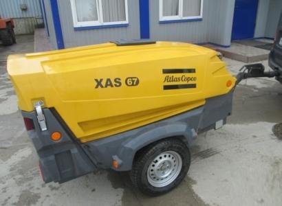 Компрессор дизельный ATLAS COPCO XAS67DD PE