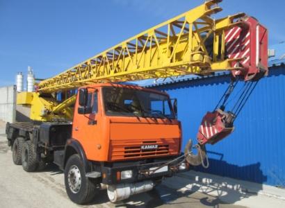 Автокран Галичанин КС 55713-1, 25 тонн