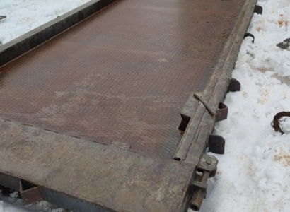 Форма для производства плит из бетона паг-14 ; 18