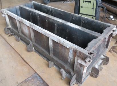 Металлоформы (Б.У) для производства фундаментных блоков ФБС 24.4.6 (без вибраторов)